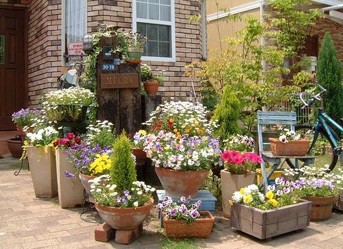Мебель в садах своими руками