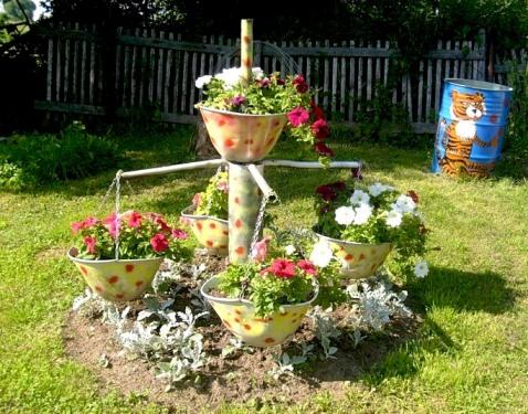 Фотогалерея клумб и цветников