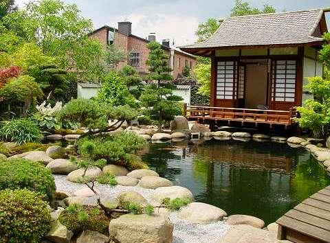Сада – стилизованные под камень