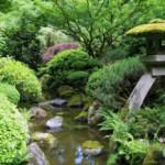 Оформление сада в японском стиле