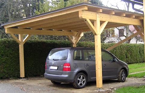 Как сделать навес для машины своими