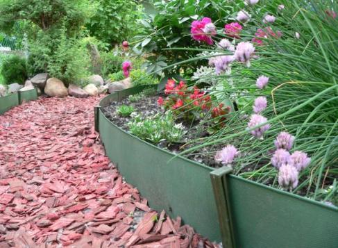 Бордюрные ленты для сада