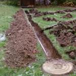 Устройство дренажной системы на садовом участке