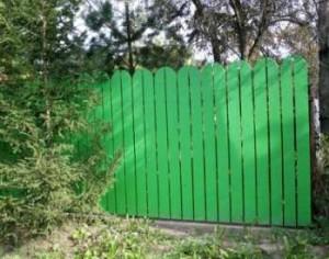 Забор для дачного участка