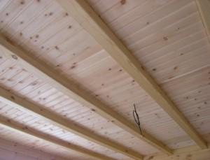 Как сделать потолок своими руками на даче фото