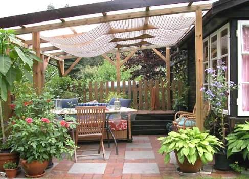 Летняя кухня на даче - строительство своими руками, фото различных дизайнов