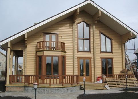 Цвета деревянный дом фото