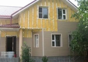 Стоимость работ на отделку фасада