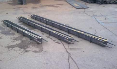 Вариант форм под бетонные заборы