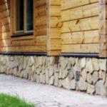 Облицовка цоколя дома — варианты отделки различными материалами