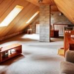 Как сделать уютную комнату на чердаке?