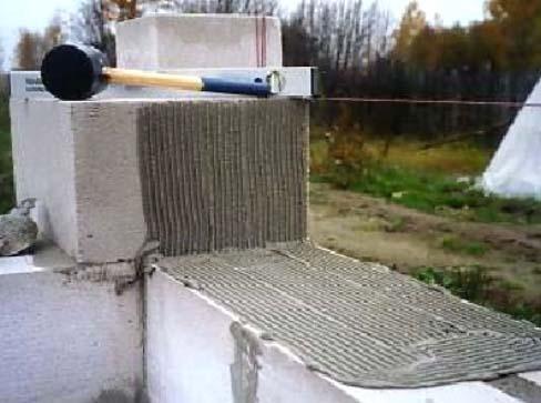 Баня из пластблока своими руками