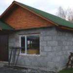 Баня из пеноблоков: особенности строительства и отделки