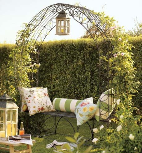 Садовые арки для цветов - виды, фото вариантов