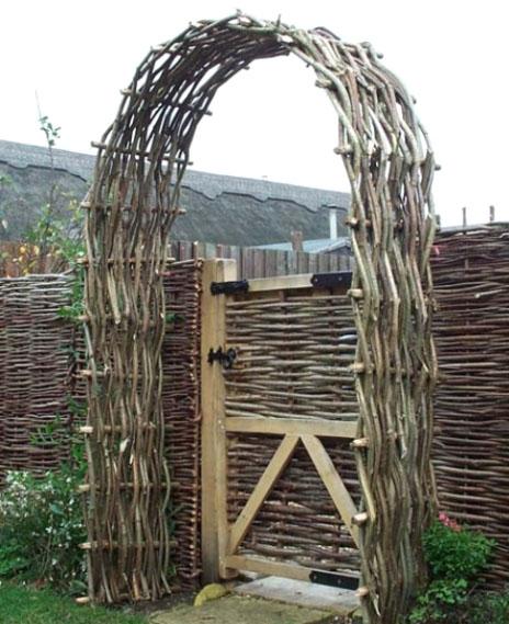 Садовая арка для цветов на даче своими руками: мастер