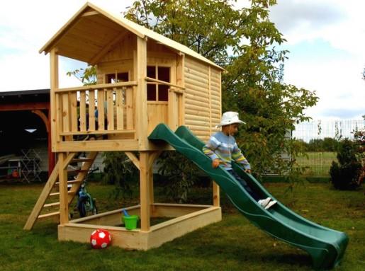 Домик для ребёнка на даче своими руками фото
