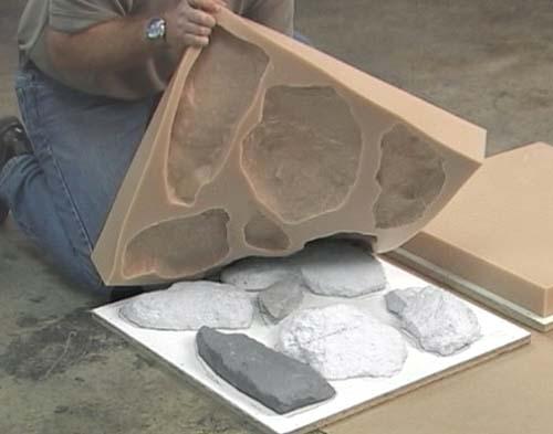 Искусственный камень из гипса