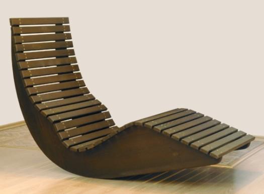 кресло-качалка из фанеры,