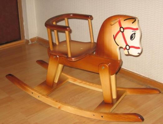Кресла качалки из фанеры 43