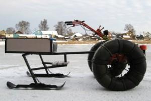 Снегоход из культиватора своими руками фото 618