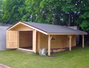 Строительство гараж из бруса своими руками