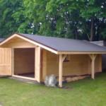 Как построить гараж из бруса своими руками?