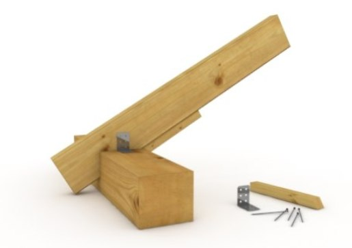 Гараж деревянный своими руками