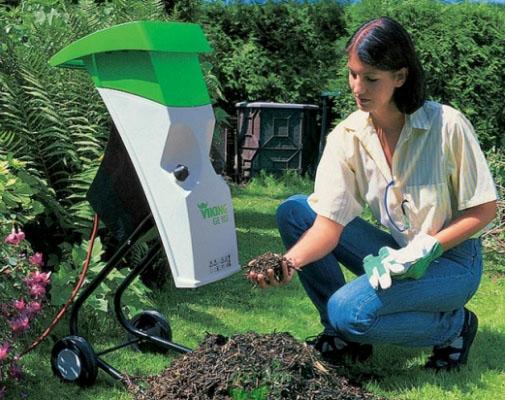 Измельчители садовые электрические своими руками