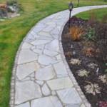 Садовые дорожки из камня кирпича: идеи дизайна и укладка своими руками