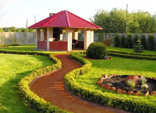 сільський двір