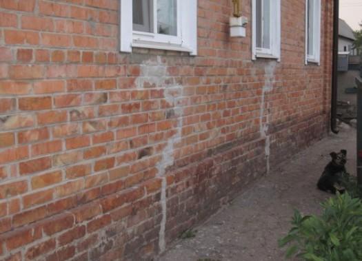 Чем заделать трещину в стене кирпичного дома 4