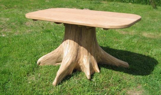 Деревянный стол своими руками на даче фото 37