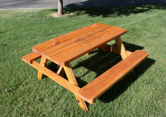 Стол и скамейки из дерева своими руками фото 192