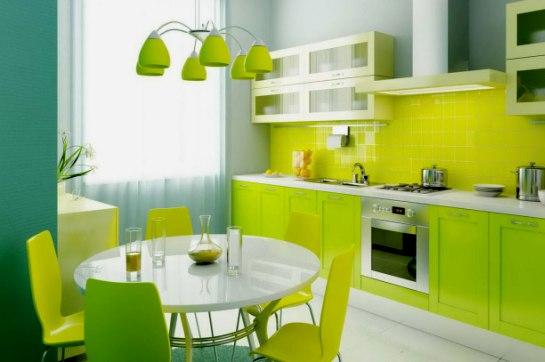 Цвет кухни выбор сочетания фото