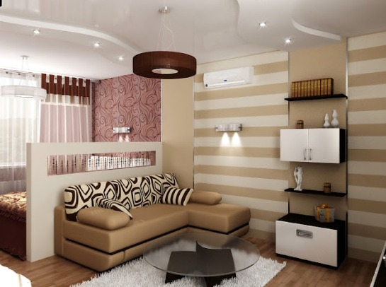 Комната 18 кв м дизайн