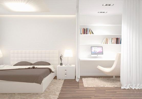 Современный дизайн однокомнатной квартиры - ЕвроДом)