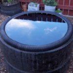 Создаем бассейн из покрышки, ванны, бетонного кольца и других подручных материалов