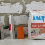 Гипсовая штукатурка КНАУФ-Ротбанд: технические характеристики и применение
