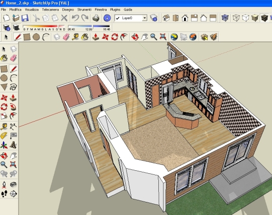 программа для создания макета дома - фото 2