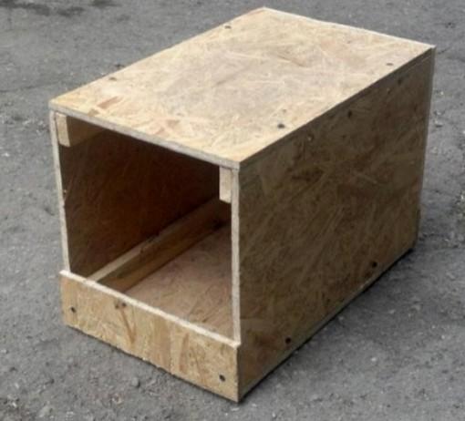 Гнездовой ящик для крольчихи