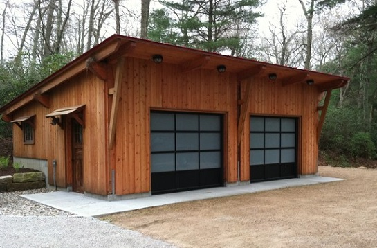 Строительство бетонного гаража