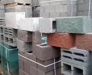 Виды строительных блоков - обзор характеристик, размеров и цен