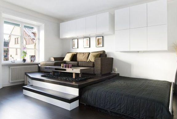 кровать подиум. фото
