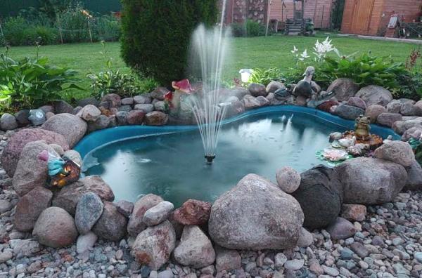 Как сделать своими руками маленький фонтан своими руками
