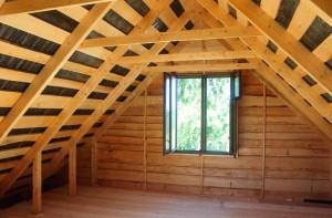 Простейшая крыша для гаража