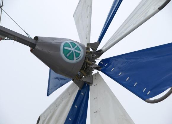 Парусный винт ветряка