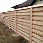 Деревянный забор фото