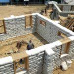 Дома из мешков с землей и песком — экотехнология Earthbag