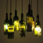 Светильники и лампы из пластиковых и стеклянных бутылок своими руками
