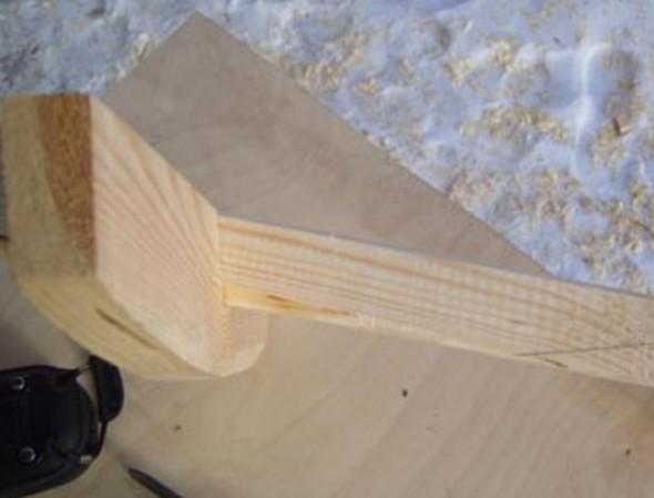 Лопата для уборки снега своими руками
